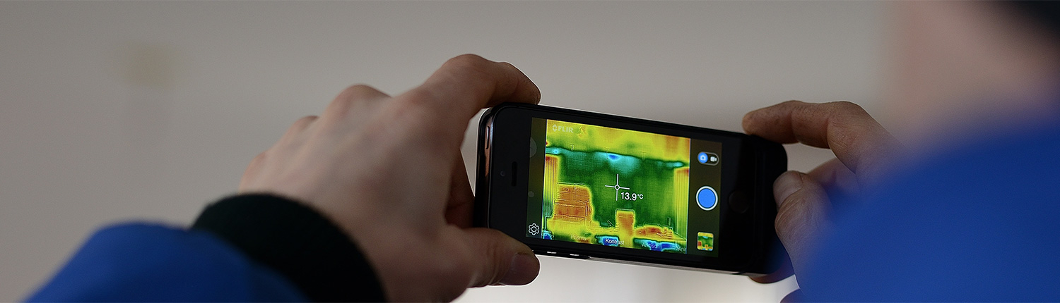 WE USE INFRARED ON EVERY INSPECTION!