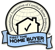 InterNACHI Certified First Time Home Buyer Friendly badge