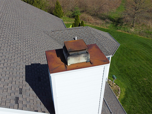 We can inspect tall chimneys