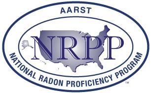 National Radon Proficiency Program badge